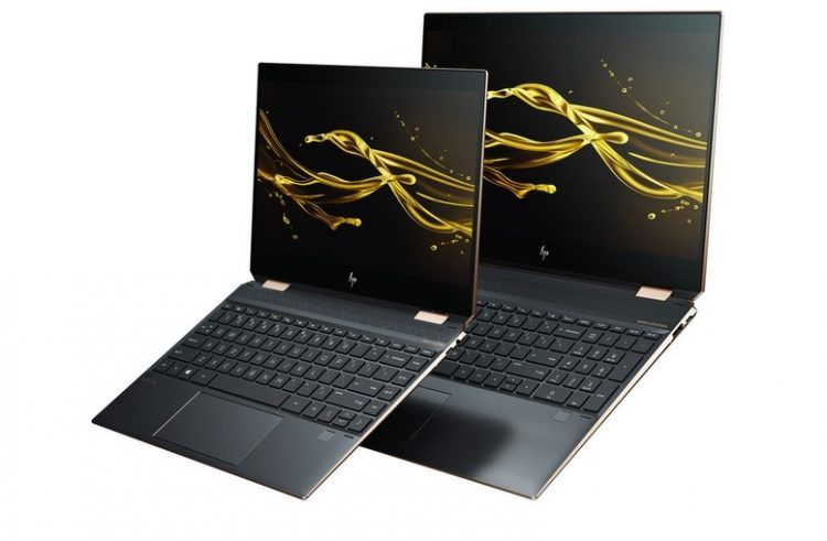 The new HP Specter x360 surprises with its angular design and with its switch to disconnect the webcam