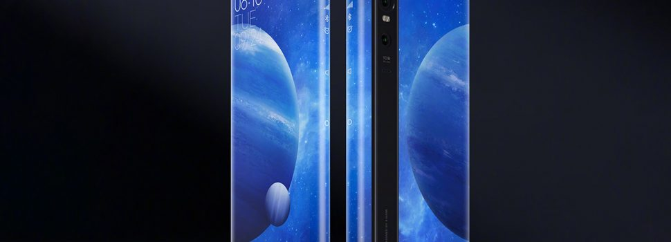 Xiaomi Mi MIX Alpha: the evolution of the curved screen was to wrap the mobile itself