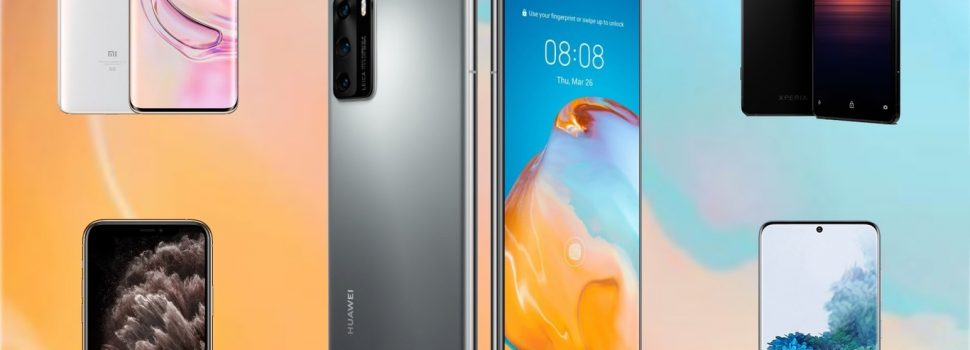 Comparison of the Huawei P40 Pro against the Samsung Galaxy S20 +, Xiaomi Mi 10 Pro, iPhone 11 Pro Max and the best phones on the market